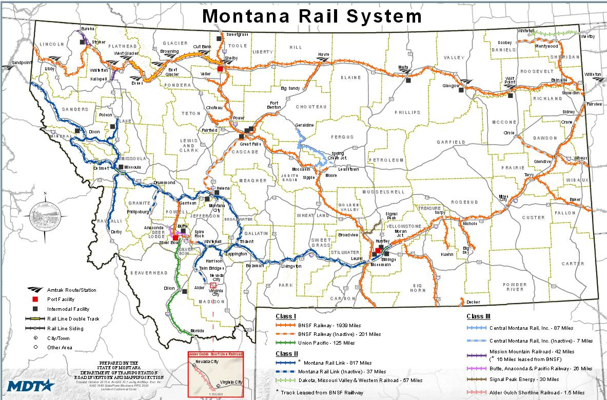 Railway safety a reason to delay drilling expansion along the Beartooth Front