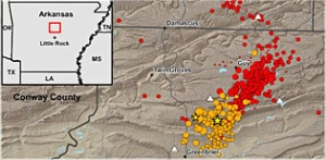 Arkansas earthquakes