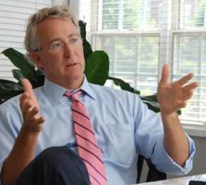 Aubrey McClendon, winner of the first Rex Tillerson Award (click to enlarge)