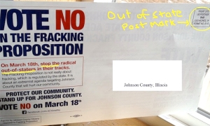 Johnson County Illinois pro-fracking mailer