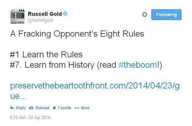 Russell Gold tweet