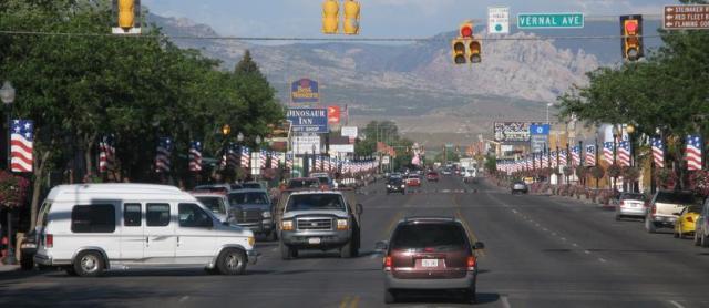 Vernal, Utah.
