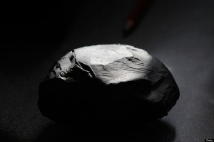 A lump of shale rock -- it's not going anywhere