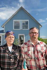 American Gothic: Jim and Sharon Lundquist. Courtesy High Plains Project. Click to enlarge.