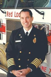 Red Lodge Fire Chief Tom Kuntz