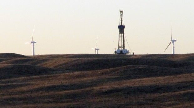 Rigs in Laramie County. Photo: Associated Press