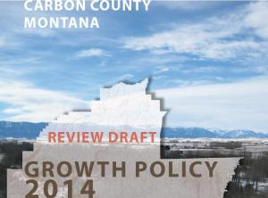 Click to read latest draft of Carbon County Growth Plan