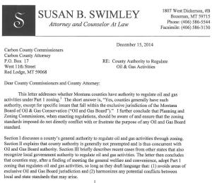 Susan Swimley letter. Click to download complete letter.