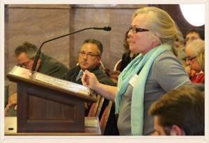 Silvertip landowner testifies for protections before a legislative committee in Helena
