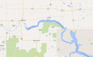 New Town, ND is in the heart of the Bakken. Click to view on Google Maps.