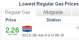Gas price_Columbus_051015