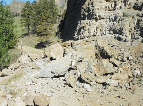Stillwater River Rock Slide Reminds Us Of The Dangers Drilling