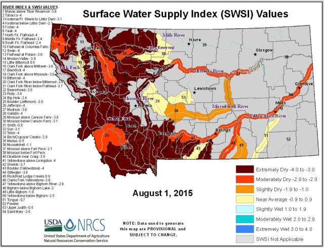 Surface Water Supply Index_Aug 15