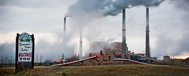 Coal power plant in Colstrip, MT. Photo: Sierra Club