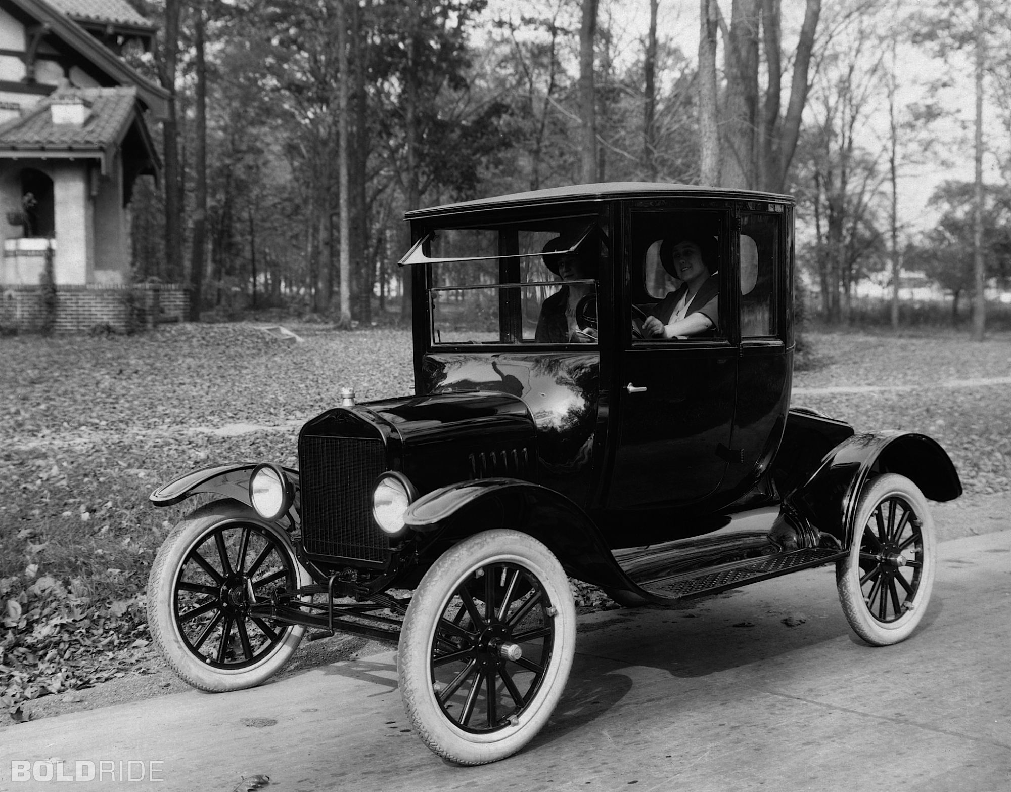 Model T Car: Preserve The Beartooth Front
